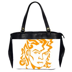 The King Of Pop Office Handbags (2 Sides)