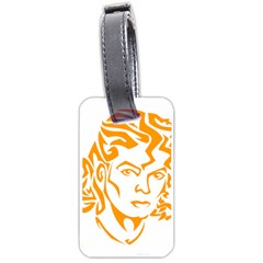 The King Of Pop Luggage Tags (two Sides)