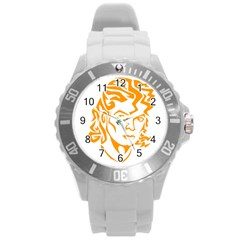 The King Of Pop Round Plastic Sport Watch (l)