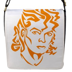 The King Of Pop Flap Messenger Bag (s)