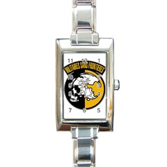 Metal Gear Solid Skull Skulls Rectangle Italian Charm Watch by Samandel