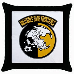 Metal Gear Solid Skull Skulls Throw Pillow Case (black)