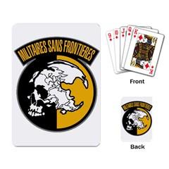 Metal Gear Solid Skull Skulls Playing Card