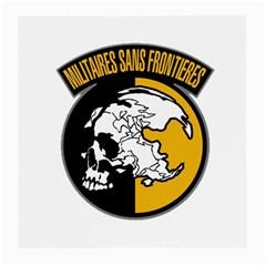Metal Gear Solid Skull Skulls Medium Glasses Cloth (2 Side)