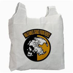 Metal Gear Solid Skull Skulls Recycle Bag (one Side)