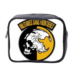 Metal Gear Solid Skull Skulls Mini Toiletries Bag 2 Side