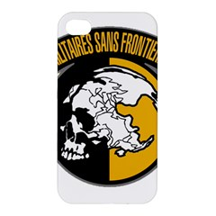 Metal Gear Solid Skull Skulls Apple Iphone 4/4s Premium Hardshell Case