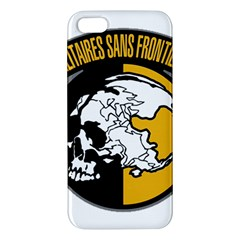 Metal Gear Solid Skull Skulls Apple Iphone 5 Premium Hardshell Case