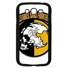 Metal Gear Solid Skull Skulls Samsung Galaxy Grand Duos I9082 Case (black)