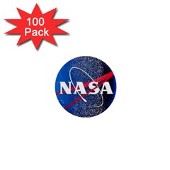 Nasa Logo 1  Mini Buttons (100 Pack)