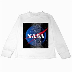 Nasa Logo Kids Long Sleeve T Shirts