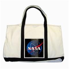 Nasa Logo Two Tone Tote Bag