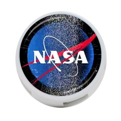 Nasa Logo 4 Port Usb Hub (two Sides)  by Samandel