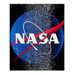 Nasa Logo Shower Curtain 60  X 72  (medium)