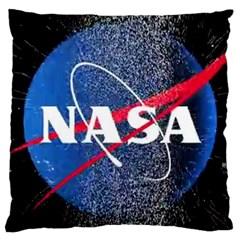 Nasa Logo Large Cushion Case (two Sides) by Samandel