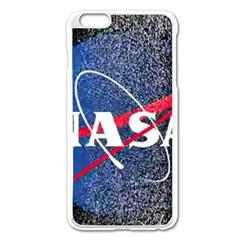 Nasa Logo Apple Iphone 6 Plus/6s Plus Enamel White Case
