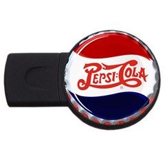Pepsi Cola Cap Usb Flash Drive Round (4 Gb)