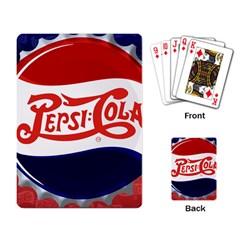 Pepsi Cola Cap Playing Card