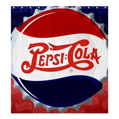 Pepsi Cola Cap Shower Curtain 66  X 72  (large)