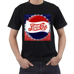 Pepsi Cola Cap Men s T Shirt (black)
