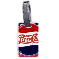 Pepsi Cola Cap Luggage Tags (one Side)