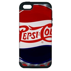 Pepsi Cola Cap Apple Iphone 5 Hardshell Case (pc+silicone)