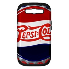 Pepsi Cola Cap Samsung Galaxy S Iii Hardshell Case (pc+silicone)