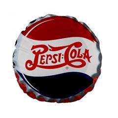Pepsi Cola Cap Standard 15  Premium Flano Round Cushions by Samandel