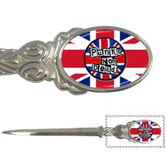 Punk Not Dead Music Rock Uk United Kingdom Flag Letter Openers