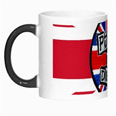 Punk Not Dead Music Rock Uk United Kingdom Flag Morph Mugs