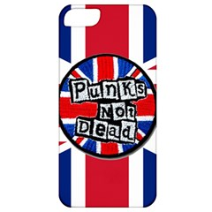 Punk Not Dead Music Rock Uk United Kingdom Flag Apple Iphone 5 Classic Hardshell Case
