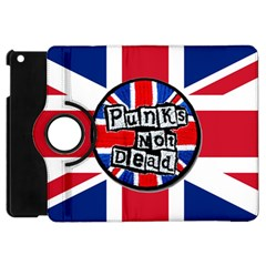 Punk Not Dead Music Rock Uk United Kingdom Flag Apple Ipad Mini Flip 360 Case
