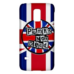 Punk Not Dead Music Rock Uk United Kingdom Flag Galaxy S5 Mini by Samandel