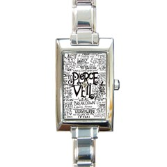Pierce The Veil Music Band Group Fabric Art Cloth Poster Rectangle Italian Charm Watch by Samandel