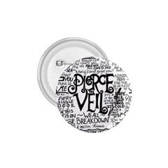 Pierce The Veil Music Band Group Fabric Art Cloth Poster 1 75  Buttons by Samandel