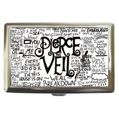 Pierce The Veil Music Band Group Fabric Art Cloth Poster Cigarette Money Cases by Samandel
