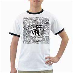 Pierce The Veil Music Band Group Fabric Art Cloth Poster Ringer T Shirts