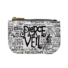 Pierce The Veil Music Band Group Fabric Art Cloth Poster Mini Coin Purses