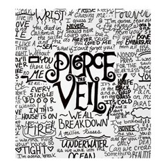 Pierce The Veil Music Band Group Fabric Art Cloth Poster Shower Curtain 66  X 72  (large)