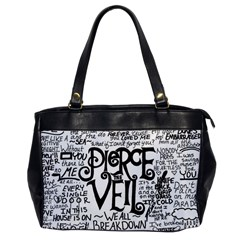 Pierce The Veil Music Band Group Fabric Art Cloth Poster Office Handbags by Samandel