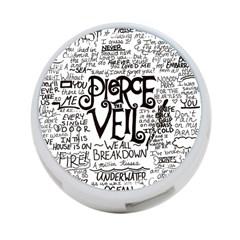 Pierce The Veil Music Band Group Fabric Art Cloth Poster 4 Port Usb Hub (two Sides)  by Samandel
