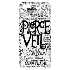Pierce The Veil Music Band Group Fabric Art Cloth Poster Apple Iphone 5 Hardshell Case by Samandel