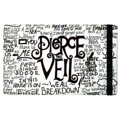 Pierce The Veil Music Band Group Fabric Art Cloth Poster Apple Ipad 3/4 Flip Case by Samandel