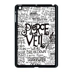 Pierce The Veil Music Band Group Fabric Art Cloth Poster Apple Ipad Mini Case (black) by Samandel