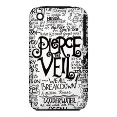 Pierce The Veil Music Band Group Fabric Art Cloth Poster Iphone 3s/3gs by Samandel