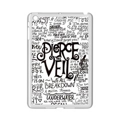 Pierce The Veil Music Band Group Fabric Art Cloth Poster Ipad Mini 2 Enamel Coated Cases by Samandel