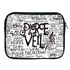 Pierce The Veil Music Band Group Fabric Art Cloth Poster Apple Ipad 2/3/4 Zipper Cases by Samandel