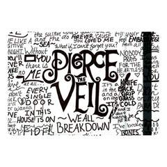 Pierce The Veil Music Band Group Fabric Art Cloth Poster Apple Ipad Pro 10 5   Flip Case