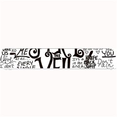 Pierce The Veil Music Band Group Fabric Art Cloth Poster Small Bar Mats