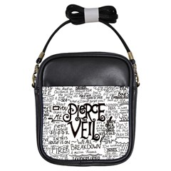 Pierce The Veil Music Band Group Fabric Art Cloth Poster Girls Sling Bags